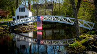 1780 Selectmen's Building and bridge - Somesville